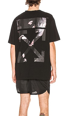 T-SHIRT GRAPHIQUE CARAVAGGIO OFF-WHITE $335