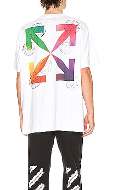 T-SHIRT GRAPHIQUE FUTURA ATOMS OFF-WHITE $218