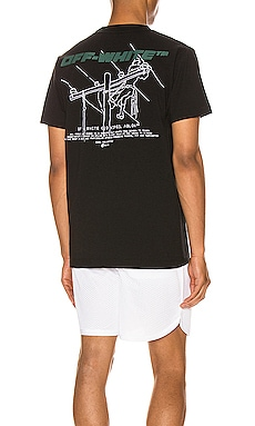 Trellis Worker Tee OFF-WHITE $340