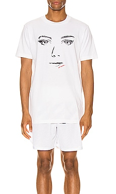 T-SHIRT GRAPHIQUE WOMAN GAZE OFF-WHITE $248