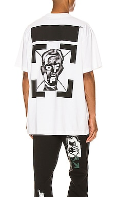 Masked Face Over Tee OFF-WHITE $330 NEW