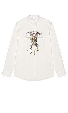 Pascal Skeleton Basic Shirt OFF-WHITE $755