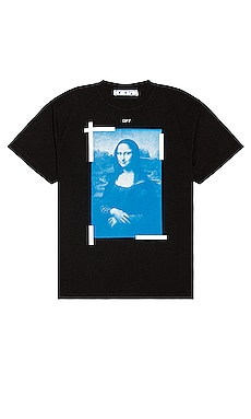Blue Mona Lisa Tee OFF-WHITE $320
