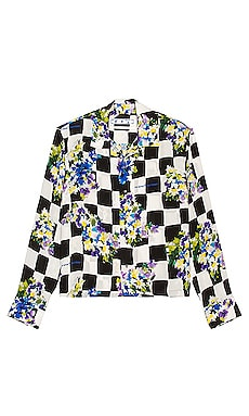 Check Flowers Casual Shirt OFF-WHITE $665