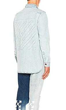 Diagonal Denim Shirt