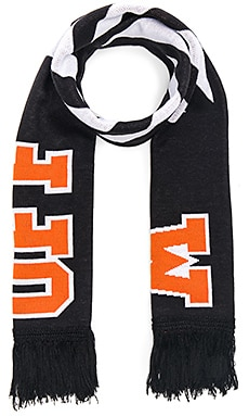 Diagonal Big Logo Scarf