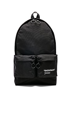 Quote Backpack OFF-WHITE $630