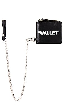 Quote Chain Wallet OFF-WHITE $260