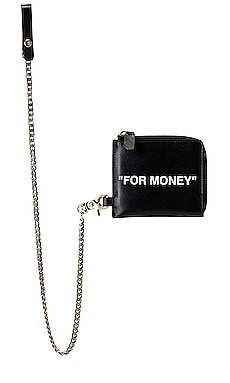 Quote Chain Wallet OFF-WHITE $250