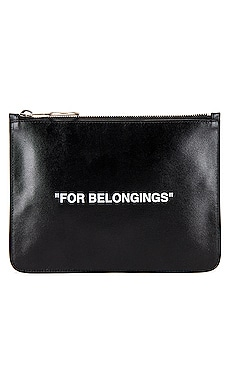 Quote Pouch OFF-WHITE $335
