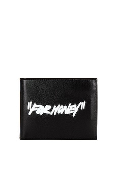 Quote Bifold Wallet OFF-WHITE $270
