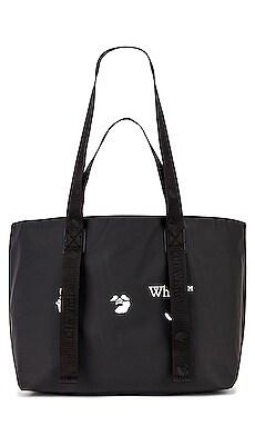 OW Logo PVC Small Tote Bag OFF-WHITE $248