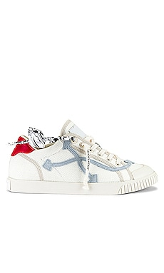 ZAPATILLAS LONA LOW VULCANIZED OFF-WHITE $360