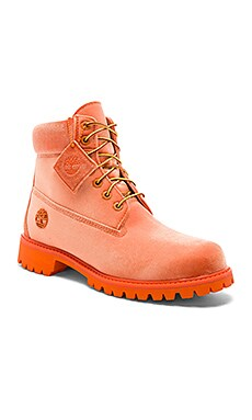 x Timberland Velvet Boots