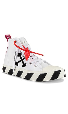 ZAPATILLAS DE CAÑA ALTA OFF-WHITE $505