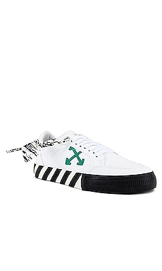 Low Vulcanized Sneaker OFF-WHITE $255 NEW