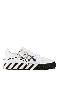 Low Vulcanized Canvas Sneaker OFF-WHITE $255