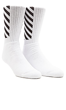 OFF-WHITE Sock in White