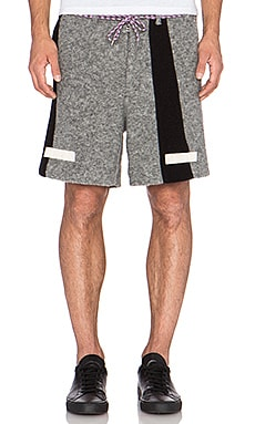 OFF-WHITE Wool Short in Grey