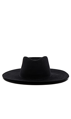 OFF-WHITE Wide Brim Hat in Black