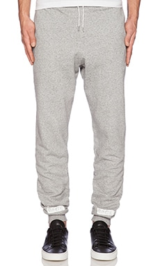 OFF-WHITE Basic Long Pant in Melange Grey