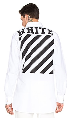 OFF-WHITE Oxford Shirt in White