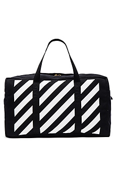 OFF-WHITE Duffle Bag in Black