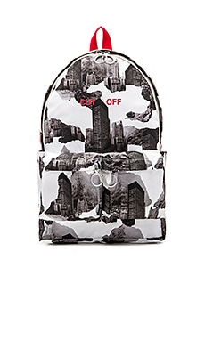 OFF-WHITE Architectural Camo Backpack in All Over Camo