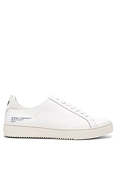 OFF-WHITE Diagonal Stripe Sneakers in White