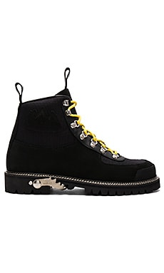 OFF-WHITE Cordura Hiking Boots in Black