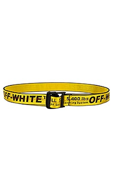 Industrial Belt OFF-WHITE $225 Collections