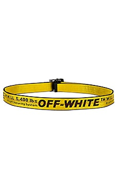 Coupon for Offwhite Industrial Belt