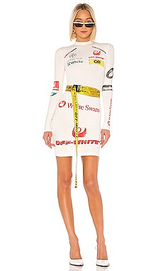 Multilogo Sporty Dress OFF-WHITE $810