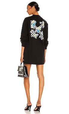 Check Arrows Dress OFF-WHITE $685