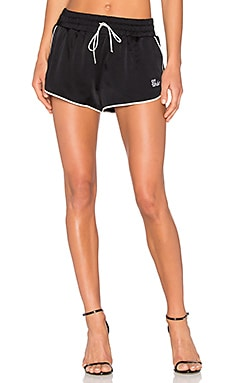 Pajama Shorts in Black