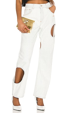 Hole Baggy Wide Leg OFF-WHITE $543 Collections