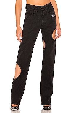 Meteor Cool Baggy Jean OFF-WHITE $785 Collections