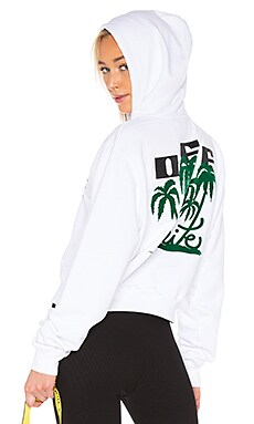 Island Crop Hoodie OFF-WHITE $610