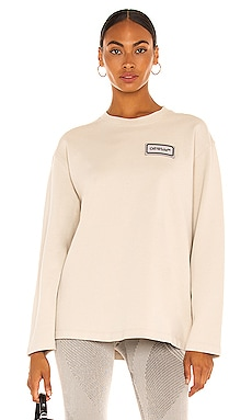 Logo Patch Over Crewneck OFF-WHITE $345 Collections