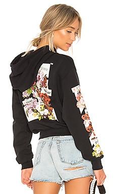 Diagonal Flower Shop Hoodie