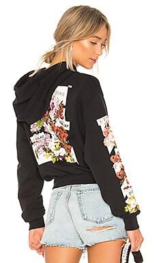 Diagonal Flower Shop Hoodie OFF-WHITE $710