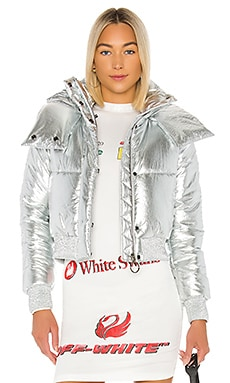 Silver Down Jacket OFF-WHITE $1,491