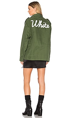 VINTAGE WHITE M65 ジャケット