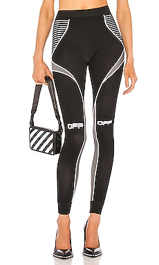 Active Arrow Leggings OFF-WHITE $295 NOUVEAUTÉ