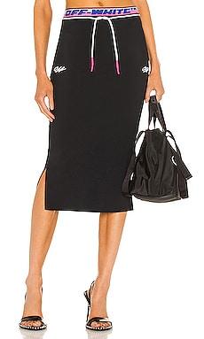 Athleisure Skirt OFF-WHITE $550