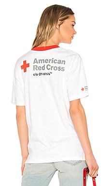 Свободная майка red cross - OFF-WHITE