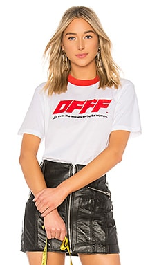 OFFF Oversize Tee OFF-WHITE $320