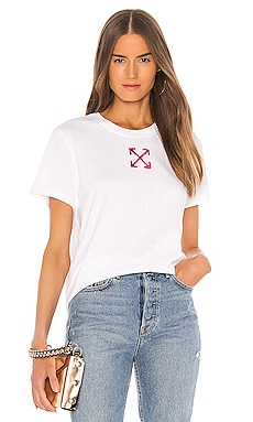 Painted Arrow Casual Tee OFF-WHITE $255 NEW ARRIVAL