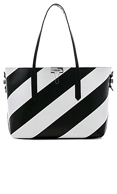 Купить Средняя сумка-тоут diagonal - OFF-WHITE, Сумки на плечо, Италия, Black & White