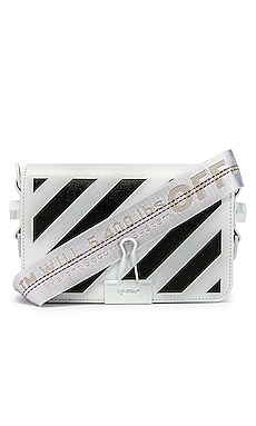 Diagonal Mini Flap Bag OFF-WHITE $910